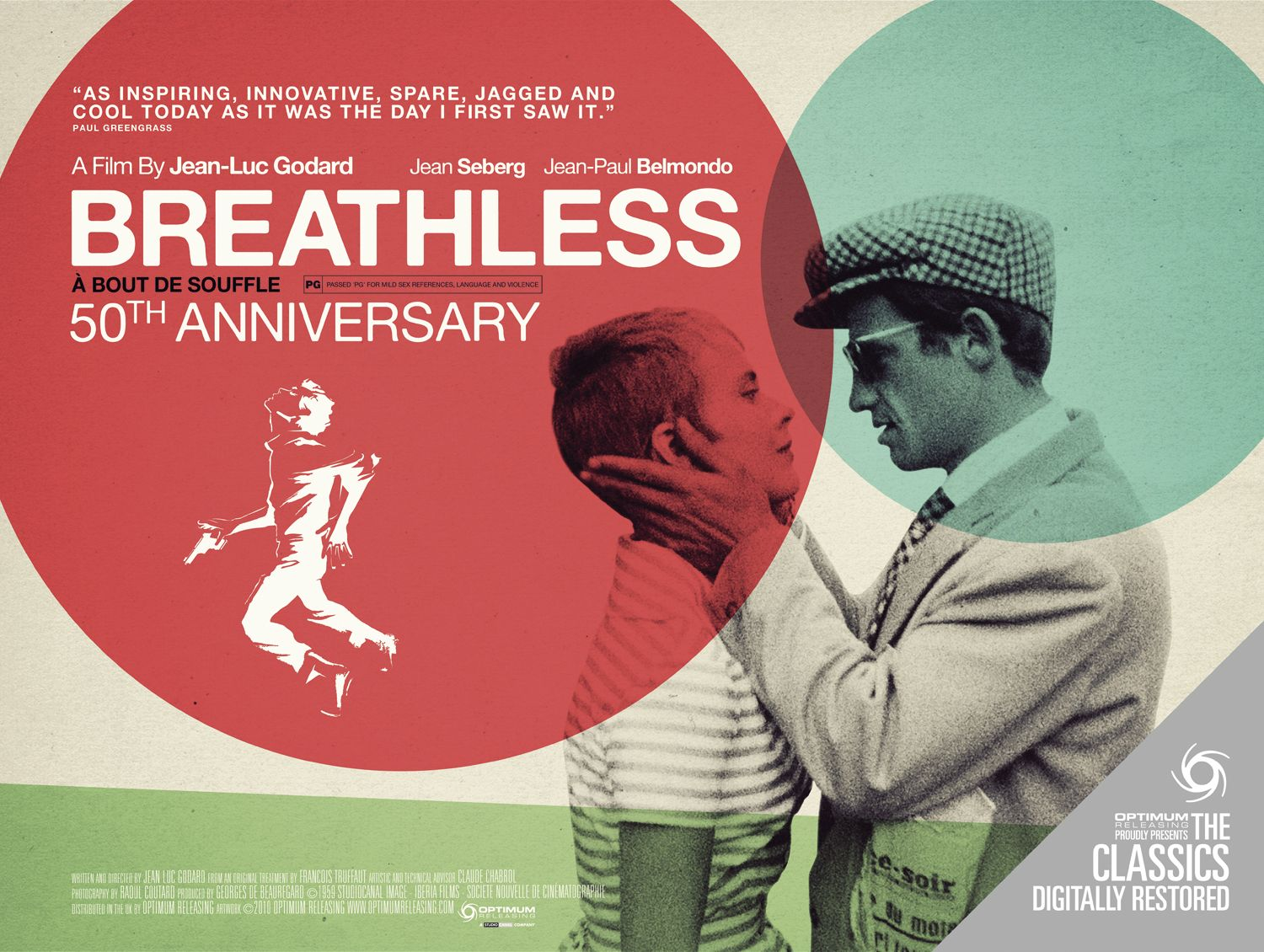 an evaluation of the movie breathless by jean luc godard